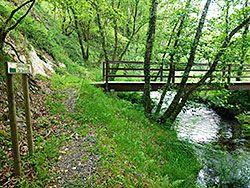 Ruta Fraga da Belosiña, Trabada (Lugo)