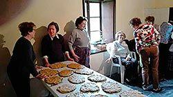 Jornadas de elaboración de rapa, en la Casa del Padre Galo (Valdés)