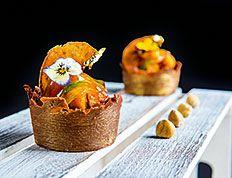 Pastel Severo Ochoa creado por Jhonatan González Ovalle, de la Pastelería Cabo Busto