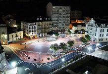 Plaza Alfonso X El Sabio, en Luarca