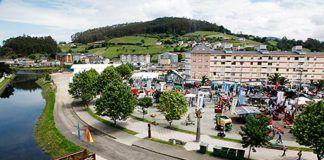 Panorámica de la Feria de Vegadeo, en su edición LIV