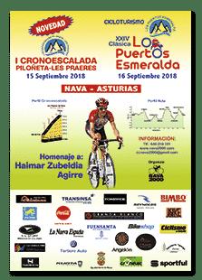 Cartel Puertos Esmeralda 2018