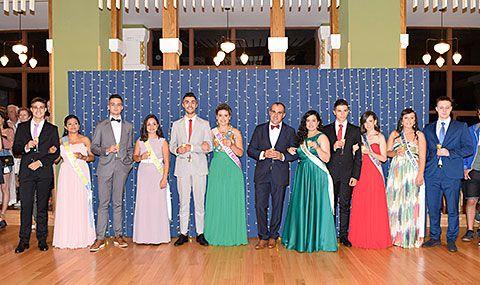 Brindis en El Casino de la Reina y Damas de las Fiestas de Navia 2018