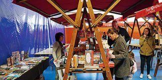 Stand en la Feria del Libro de Navia
