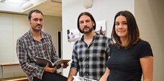 Los componentes del proyecto Niebla son Jorge Carbajales, Simón García y Elena de Alfonso / Foto: Fusión Asturias