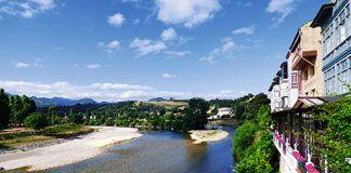 Vista del río Sella a su paso por el concejo de Parres