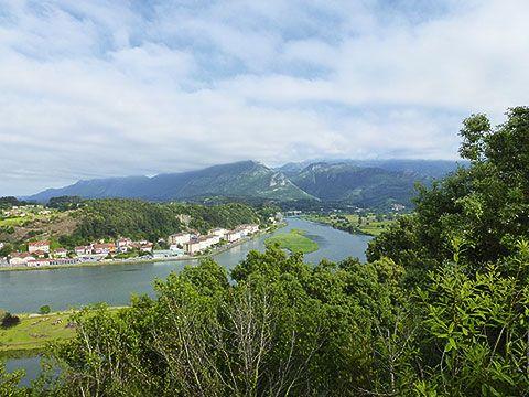 Vista general del barrio El Cobayu