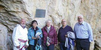 Ruperto Álvarez, Amparo Izquierdo, Eloisa Fdez. Bustillo, Adolfo Inda y Jesús Álvarez Malvárez (Dcha.)