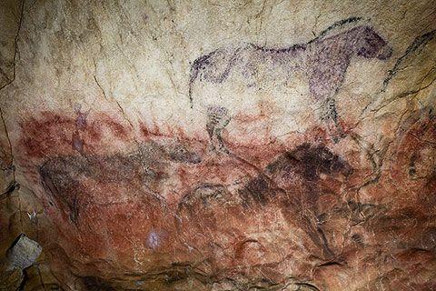 Pinturas del Panel Principal de la Cueva de Tito Bustillo
