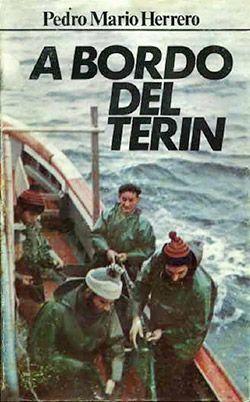 "Portada original de ""A bordo del Terín"" de la edición de 1972"