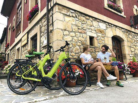 Turismo en bicicleta eléctrica