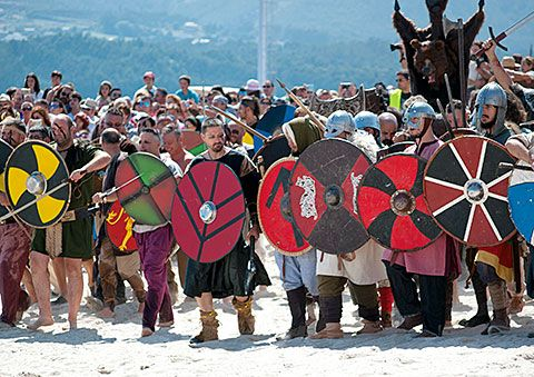 Festa Normanda en Foz / Foto: Iría García López