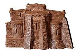 Figura del Monasterio de San Martiño en chocolate