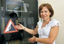 María José Domínguez. Geóloga