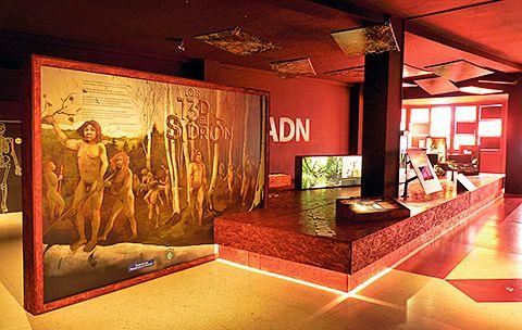 """Exposición permanente """"Los 13 de El Sidrón"""""""