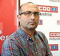 Damián Manzano. Secretario General de Industria CCOO-Asturias
