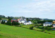 Vista de San Juan de Prendonés (El Franco)