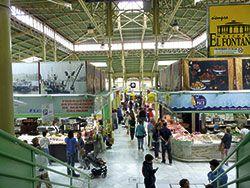 Interior del Mercado del Fontán