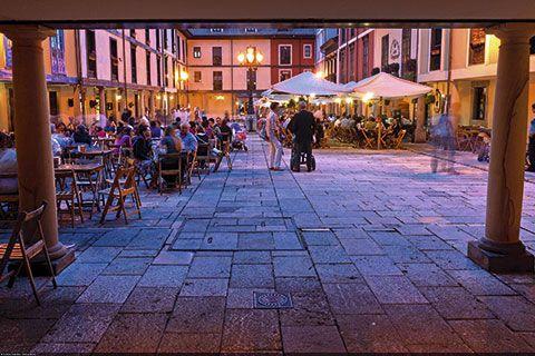 Plaza del Fontán. Oviedo