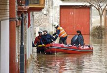 rescate ante una inundación