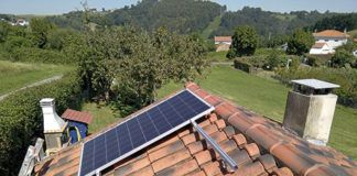 Instalación solar en Corvera