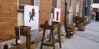 Algunas de las piezas realizadas por 'Chus el ebanista'