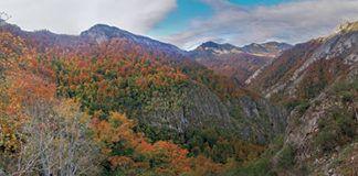 Panorámica de Brañagallones. Parque Natural de Redes