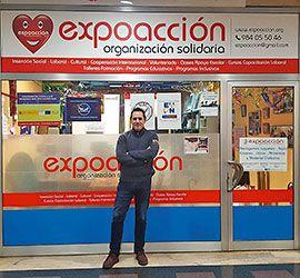 Jorge González, presidente de Expoacción Organización Solidaria