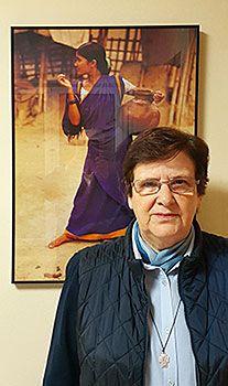 Marisela Cueto. Cocina Económica de Gijón