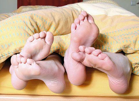 Tema del mes pies en cama