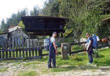 Camino de Santiago a su paso por La Fuente
