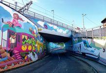 Graffitis en Villabona (Llanera)