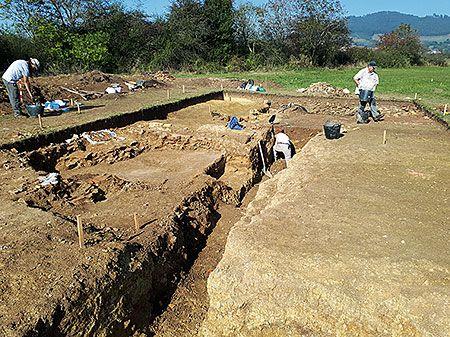 Excavación Lucus Asturum (Llanera)