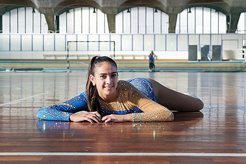 Paola García Cuetos, patinadora