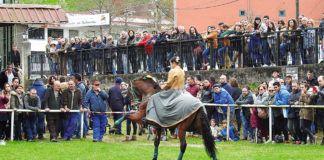 Feria ecuestre en Belmonte de Miranda