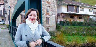 Rosa María Rodríguez, alcaldesa de Belmonte de Miranda