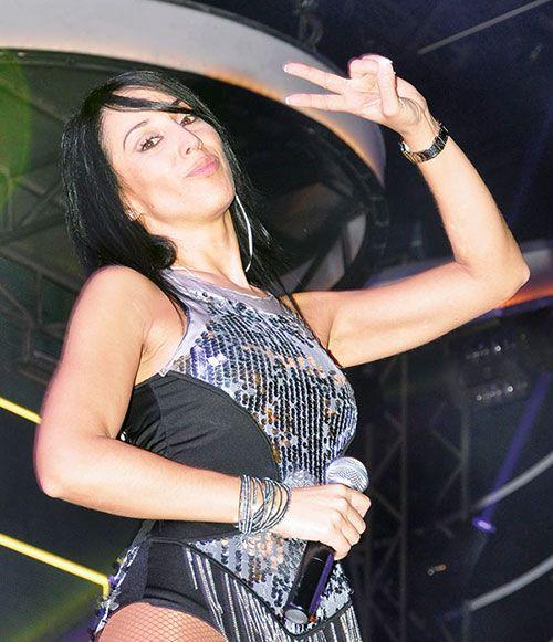 Margarita González, cantante del Grupo Tekila