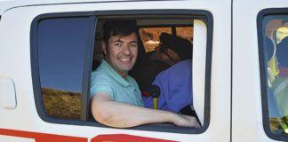 Javier Alonso, de la Fundación Ambulancia del Deseo