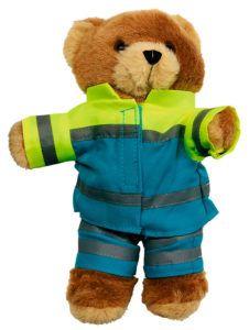 Osito Mario, mascota de la Ambulancia del Deseo