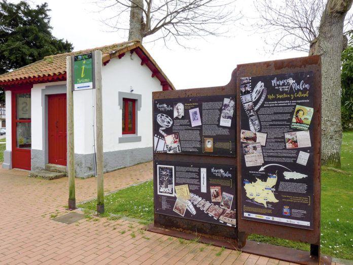 Panel explicativo en La Era (Muros de Nalón)