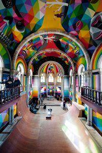 Interior de la iglesia de Asipo