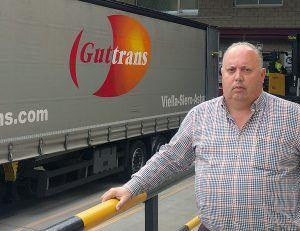 Ramiro Gutiérrez, empresario de transporte y logística en Asipo