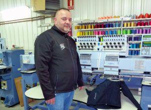Manuel Cancio, empresario de Borda Print