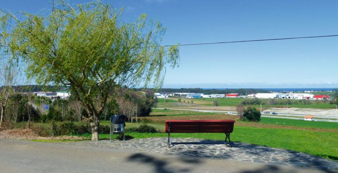 Vista del área de Río Pinto desde una carretera cercana