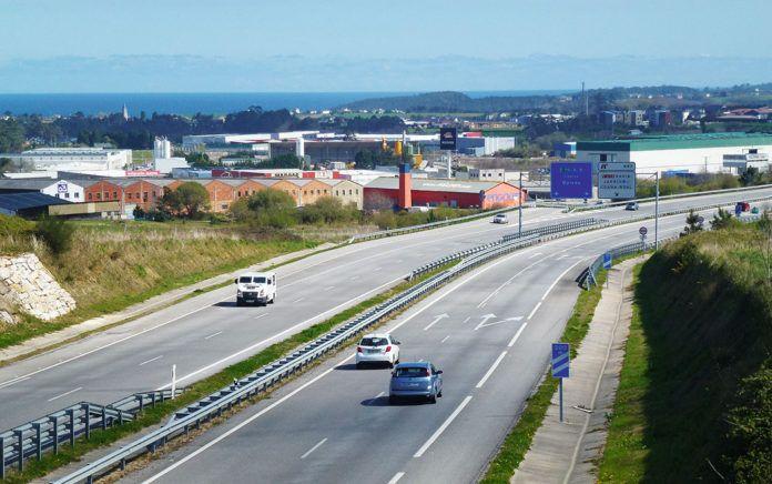 Vista parcial del Polígono Industrial Río Pinto (Coaña)