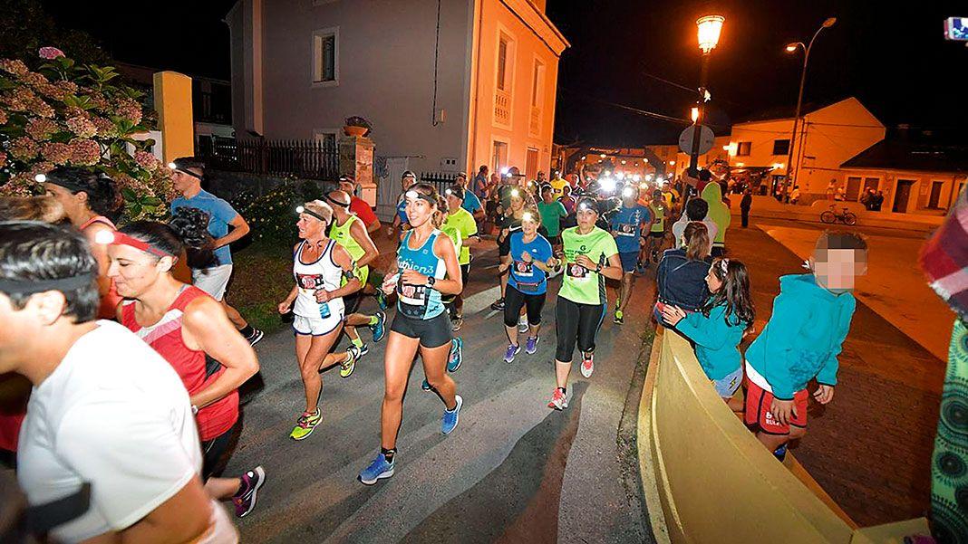 II Carrera Nocturna Rinlo-Ribadeo, organizada por el Club Atletismo Ribadeo