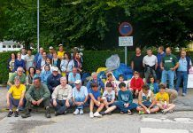 Sextaferia para la recogida de plásticos en el río Esva del grupo La Socala en colaboración con el G.M. Estoupo