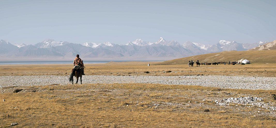 Viaje a caballo como guía para un grupo de españoles entre Kirguistán y China