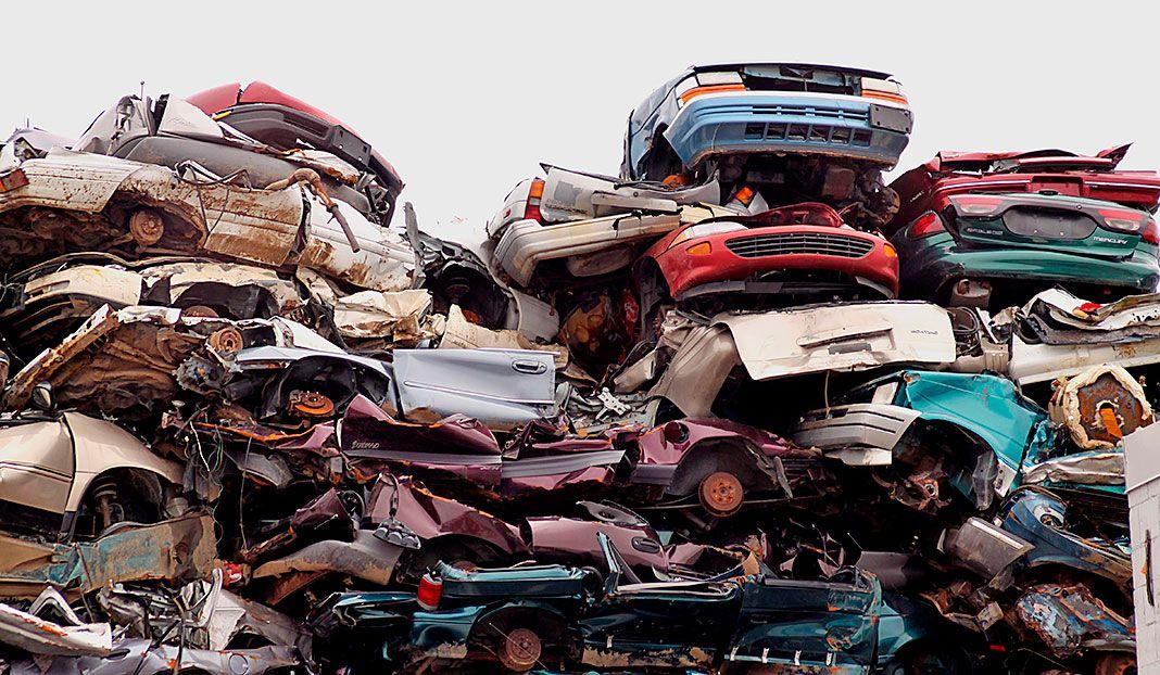 coches para chatarra