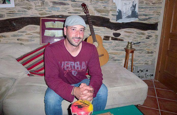José Manuel Garrido, hospitalero en Casa Xica. Una casa abierta para peregrinos a trueque
